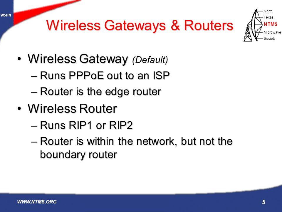 Wireless Gateways & Routers