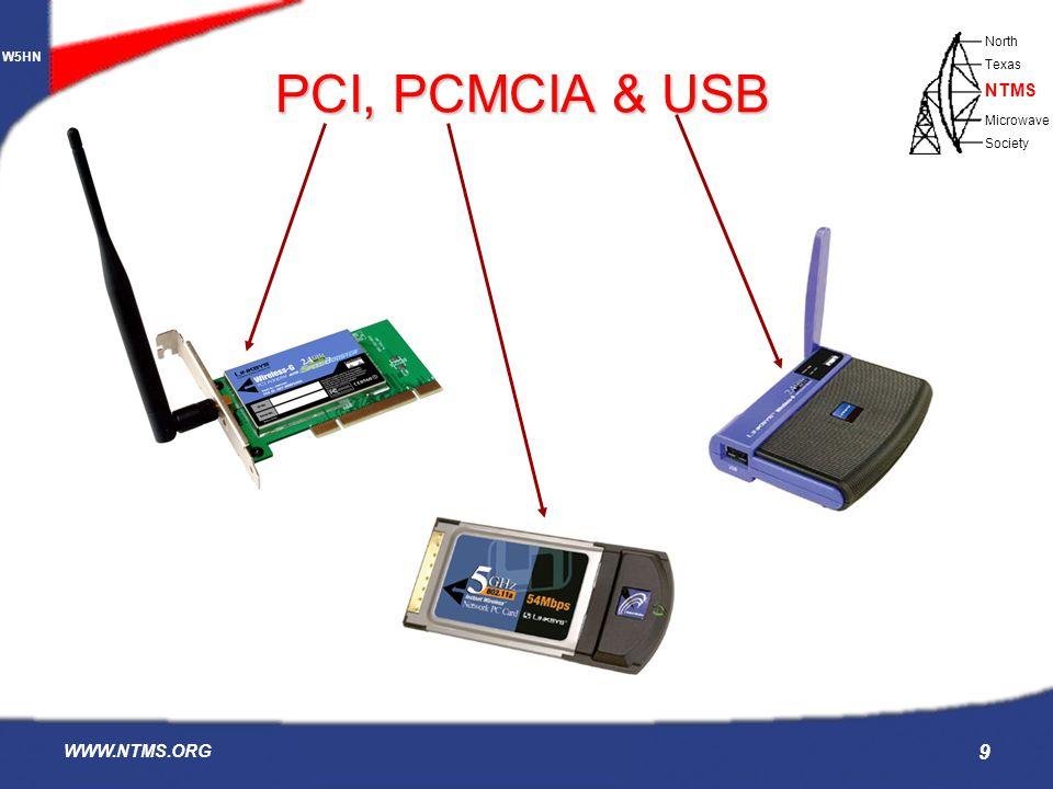 PCI, PCMCIA & USB WWW.NTMS.ORG
