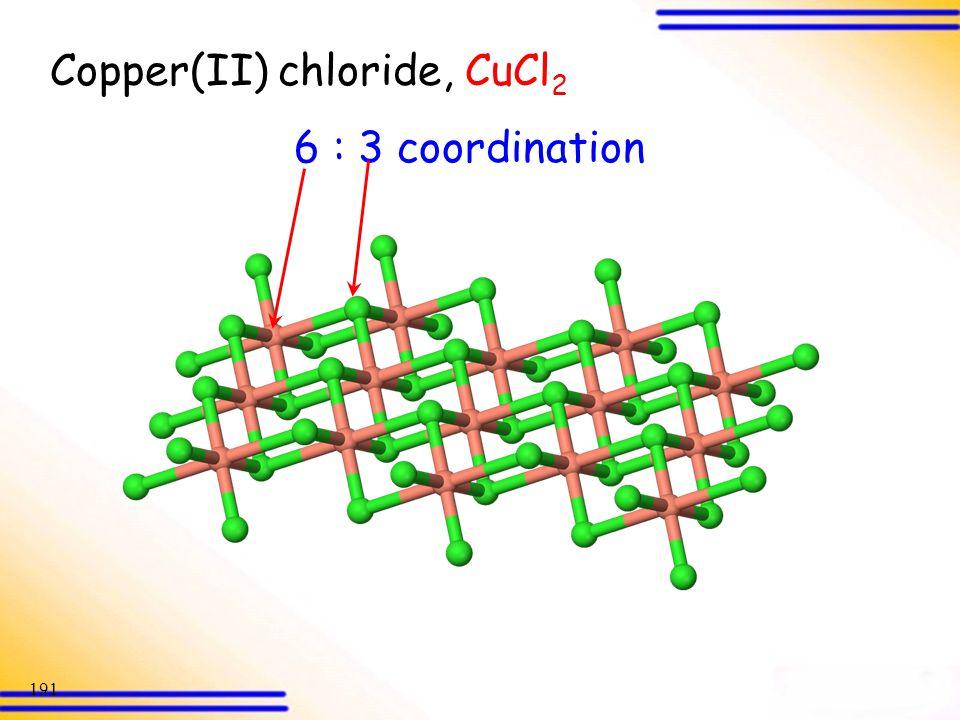 Copper(II) chloride, CuCl2