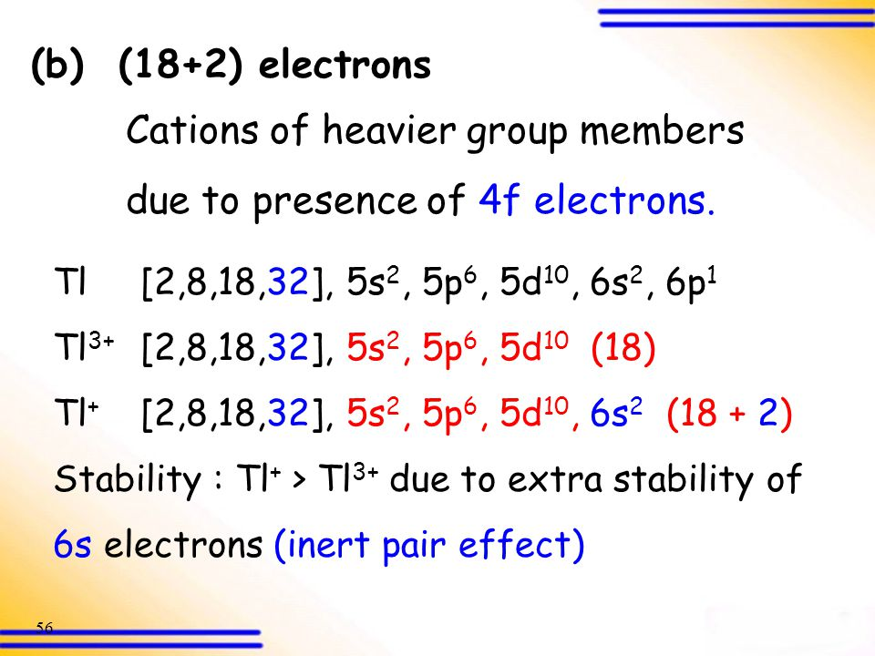 due to presence of 4f electrons.