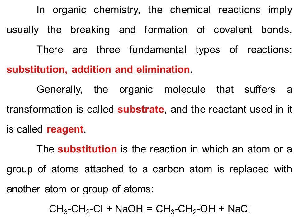 CH3-CH2-Cl + NaOH = CH3-CH2-OH + NaCl