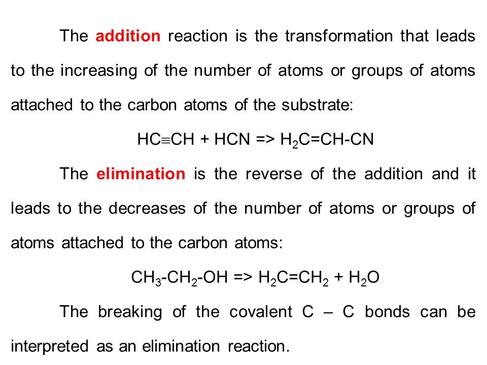 HCCH + HCN => H2C=CH-CN