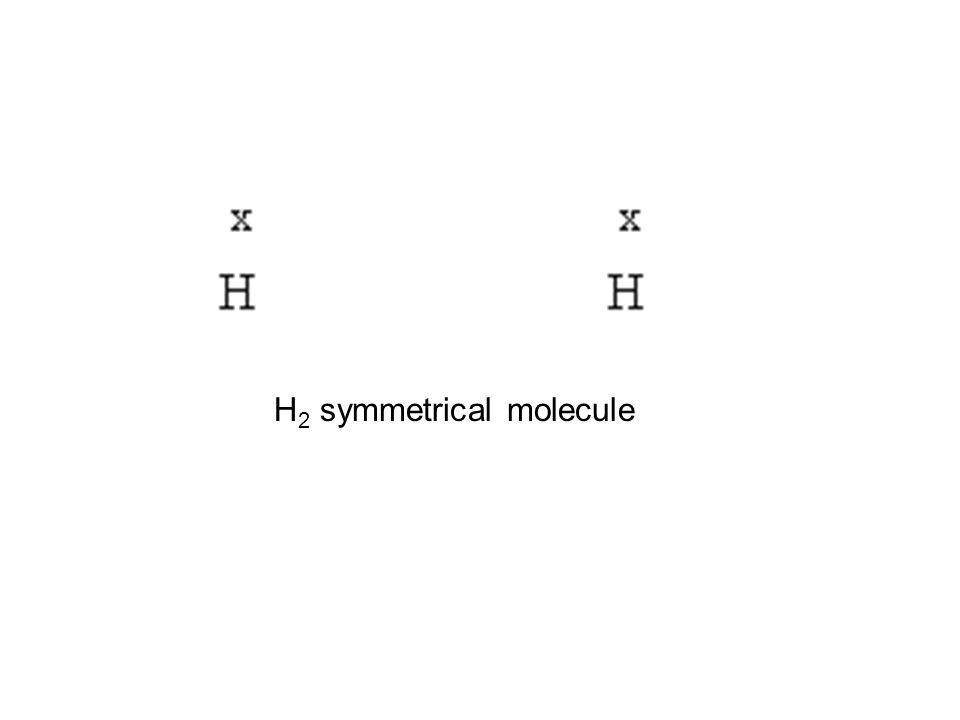 H2 symmetrical molecule