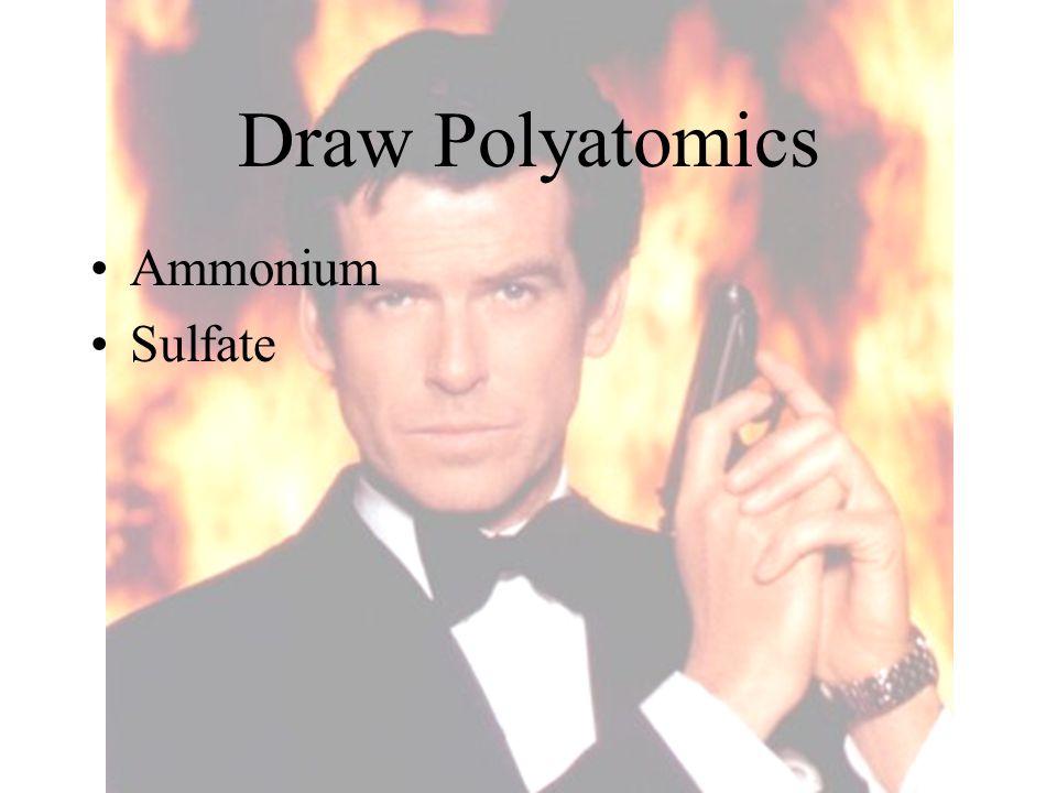 Draw Polyatomics Ammonium Sulfate