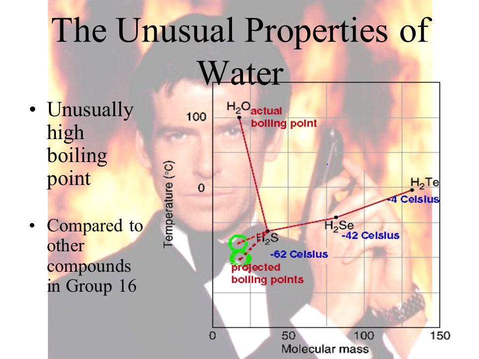 The Unusual Properties of Water