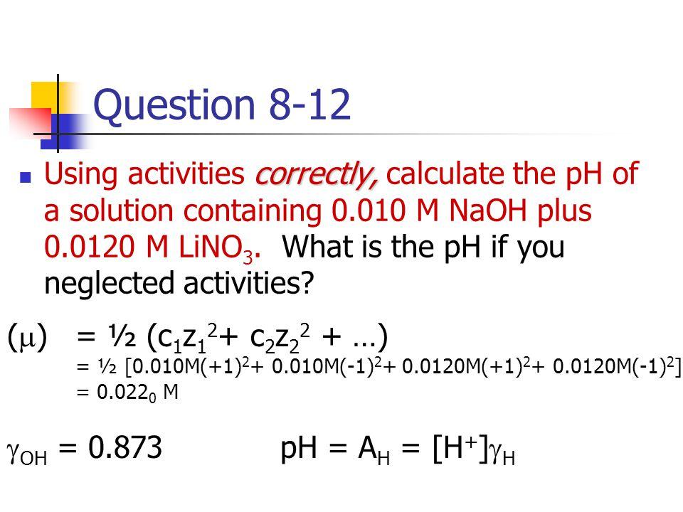 Question 8-12