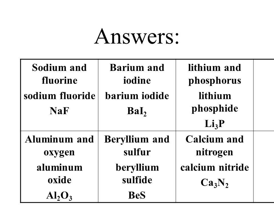 lithium and phosphorus