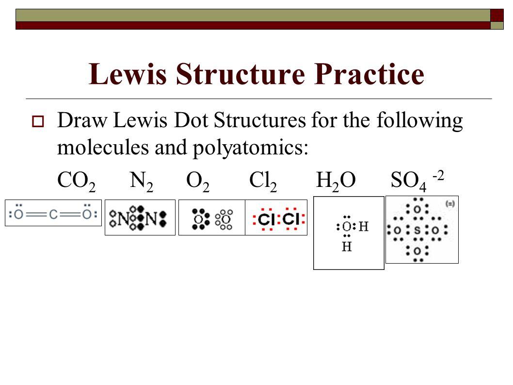 Lewis Structure Practice