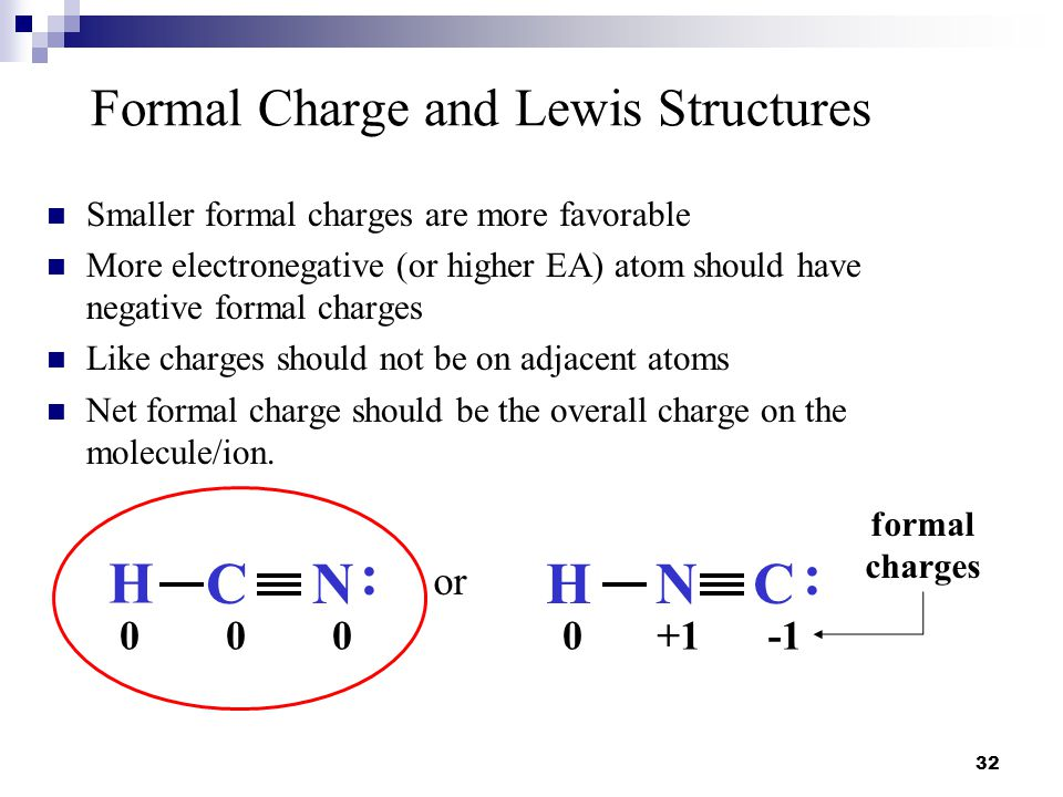 Formal Charge and Lewis Structures