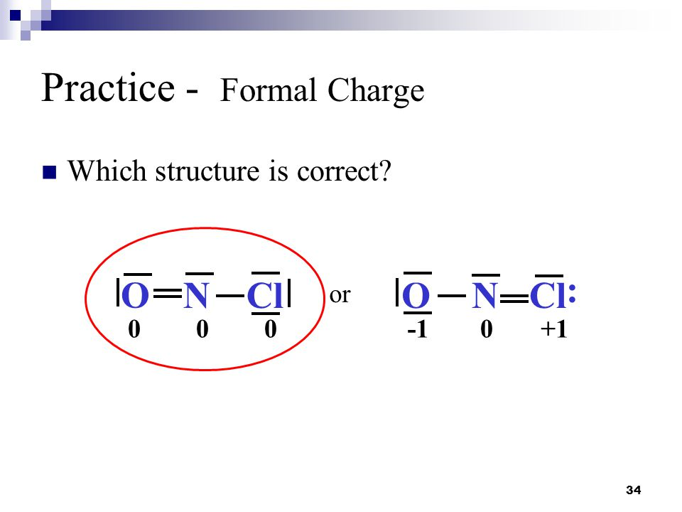 Practice - Formal Charge