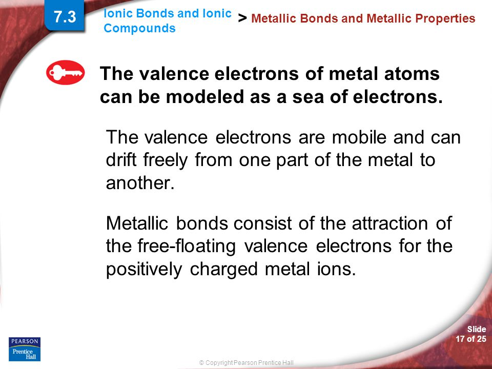 Metallic Bonds and Metallic Properties
