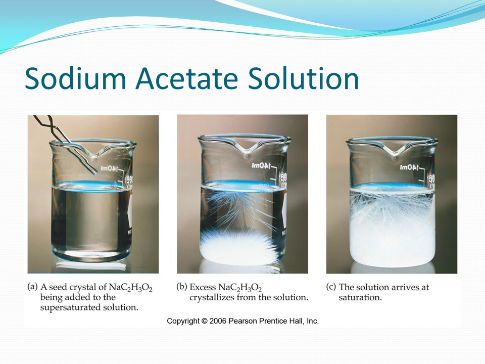 Sodium Acetate Solution
