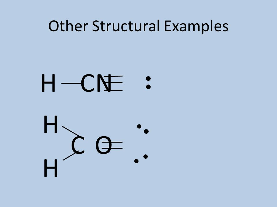 Other Structural Examples