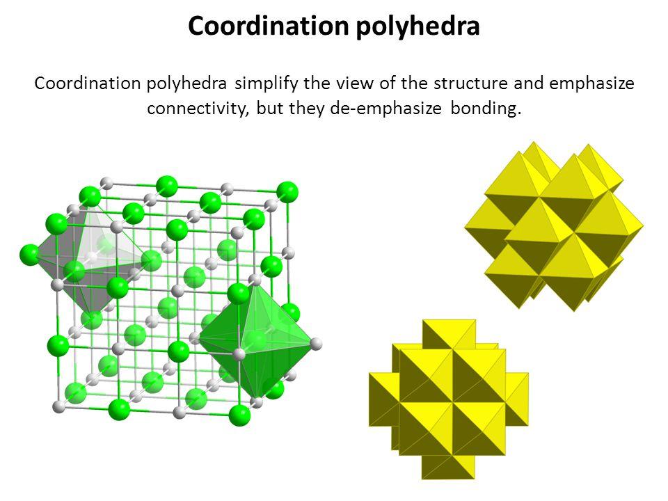 Coordination polyhedra