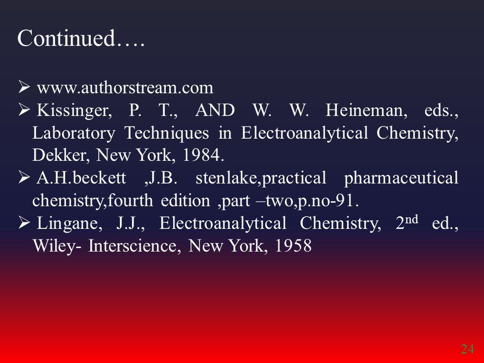Continued…. www.authorstream.com