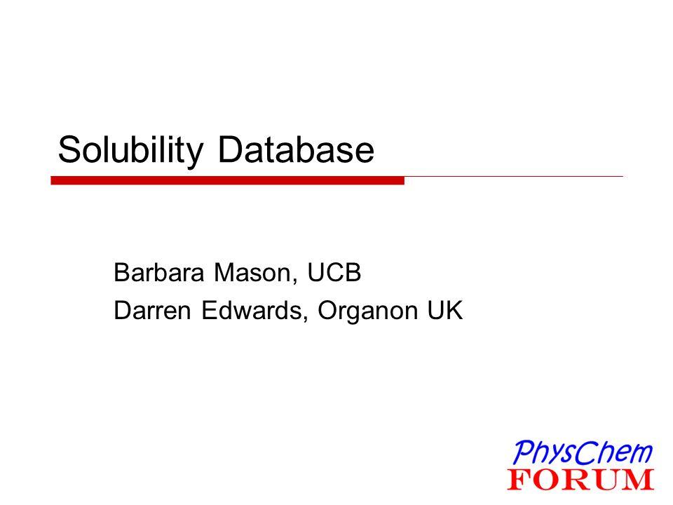 Barbara Mason, UCB Darren Edwards, Organon UK