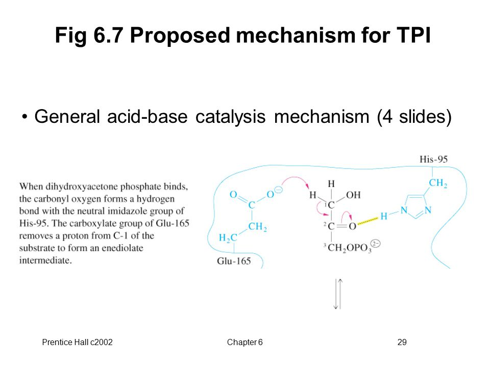 Fig 6.7 Proposed mechanism for TPI