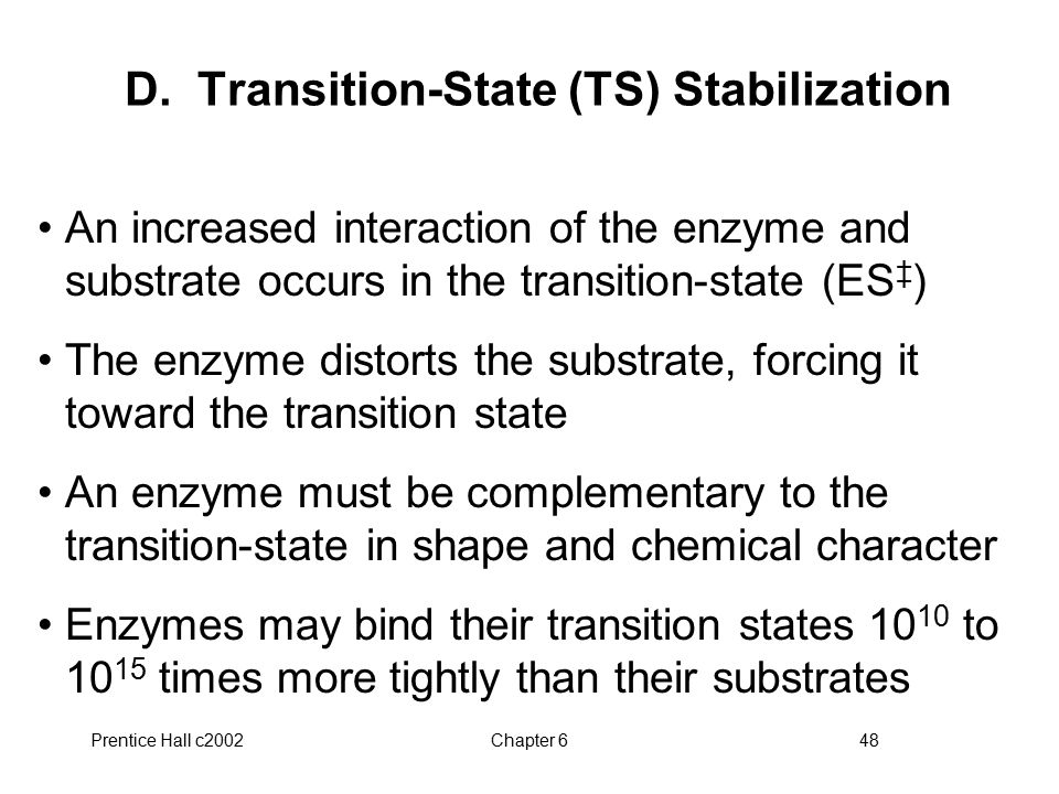 D. Transition-State (TS) Stabilization