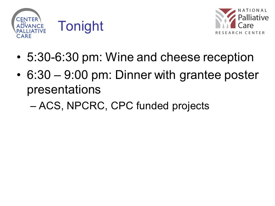 Tonight 5:30-6:30 pm: Wine and cheese reception