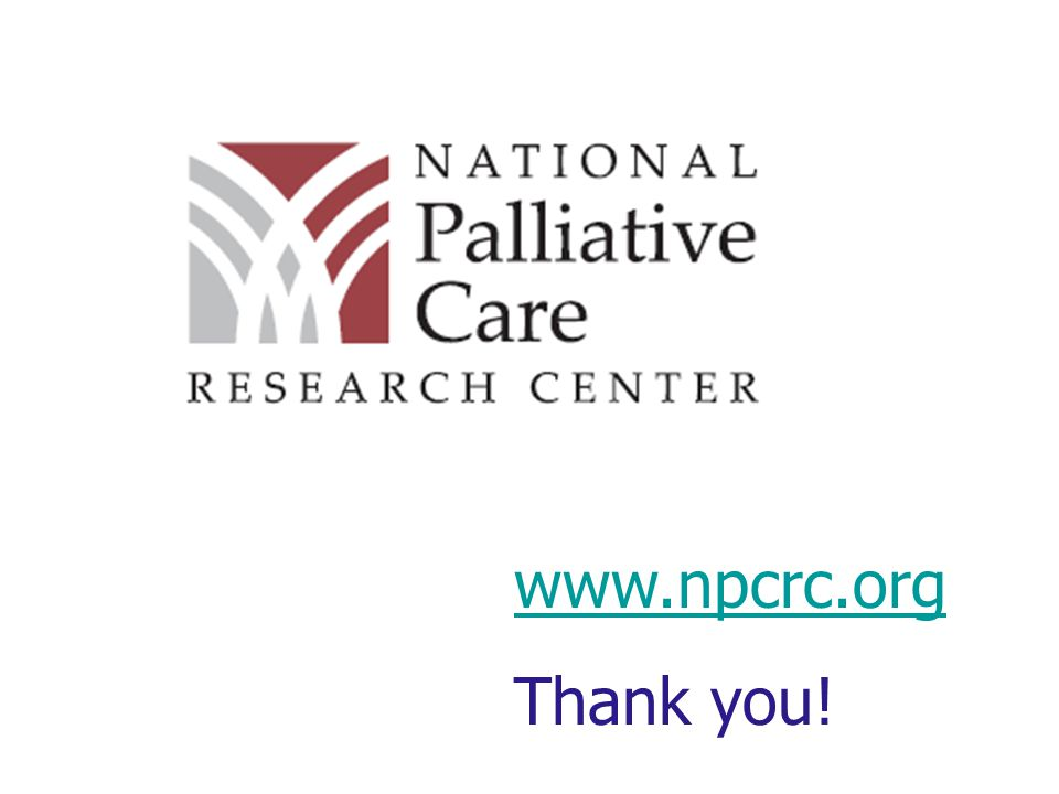 www.npcrc.org Thank you!