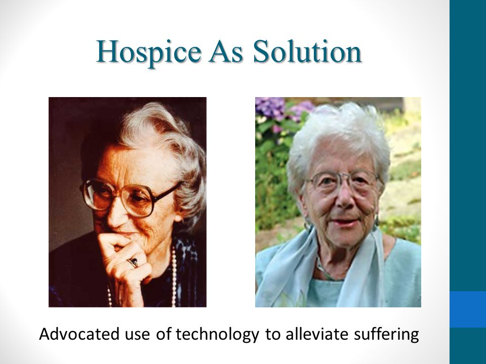 Advocated use of technology to alleviate suffering