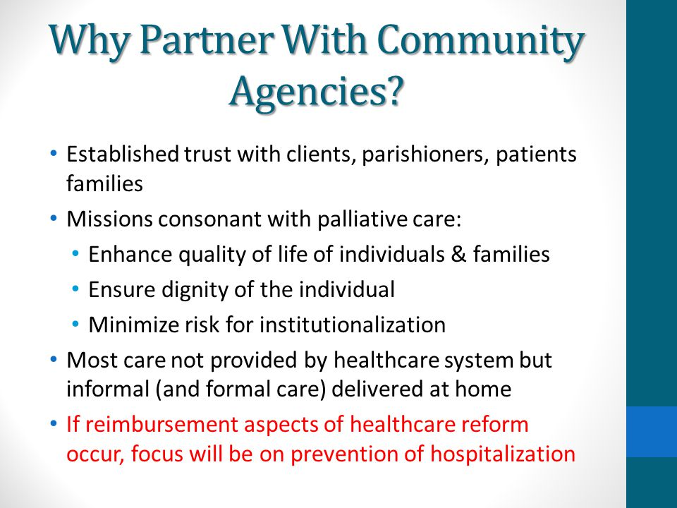 Why Partner With Community Agencies