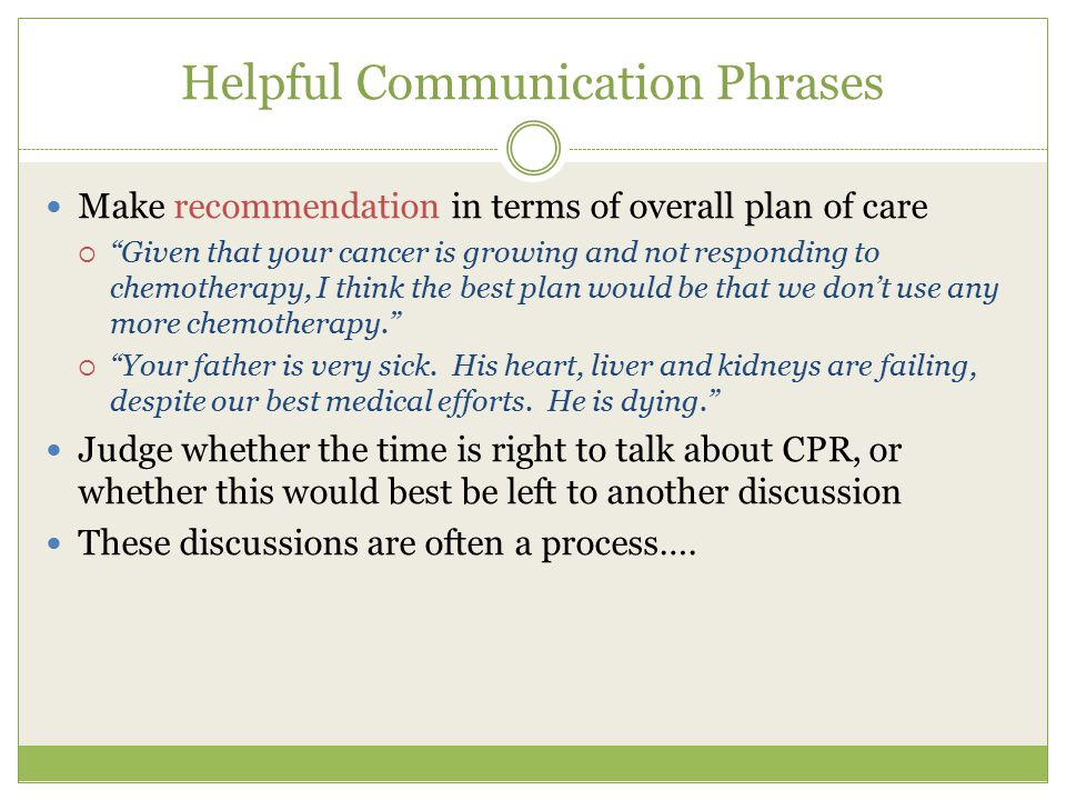 Helpful Communication Phrases