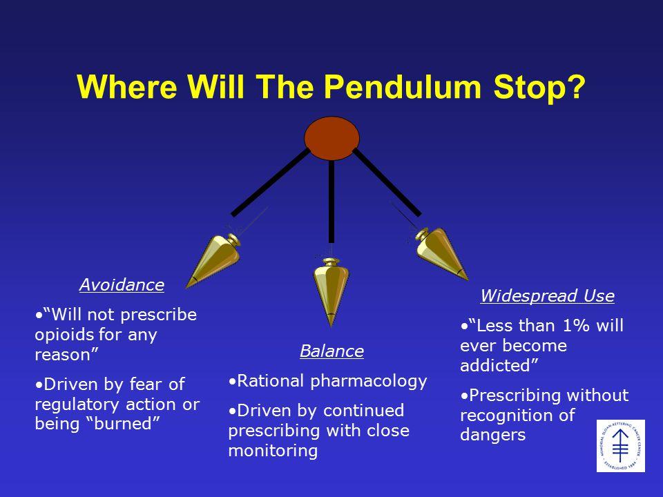 Where Will The Pendulum Stop