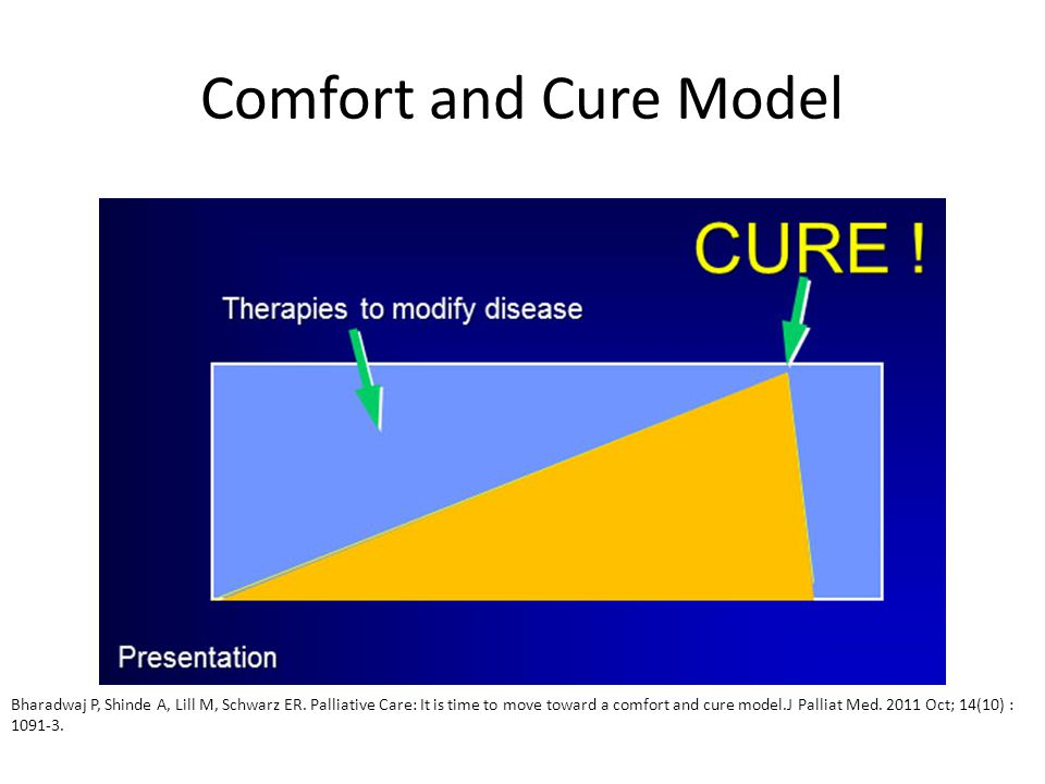 Comfort and Cure Model