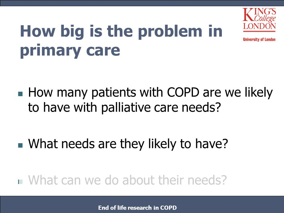 How big is the problem in primary care