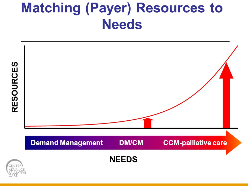 Matching (Payer) Resources to Needs