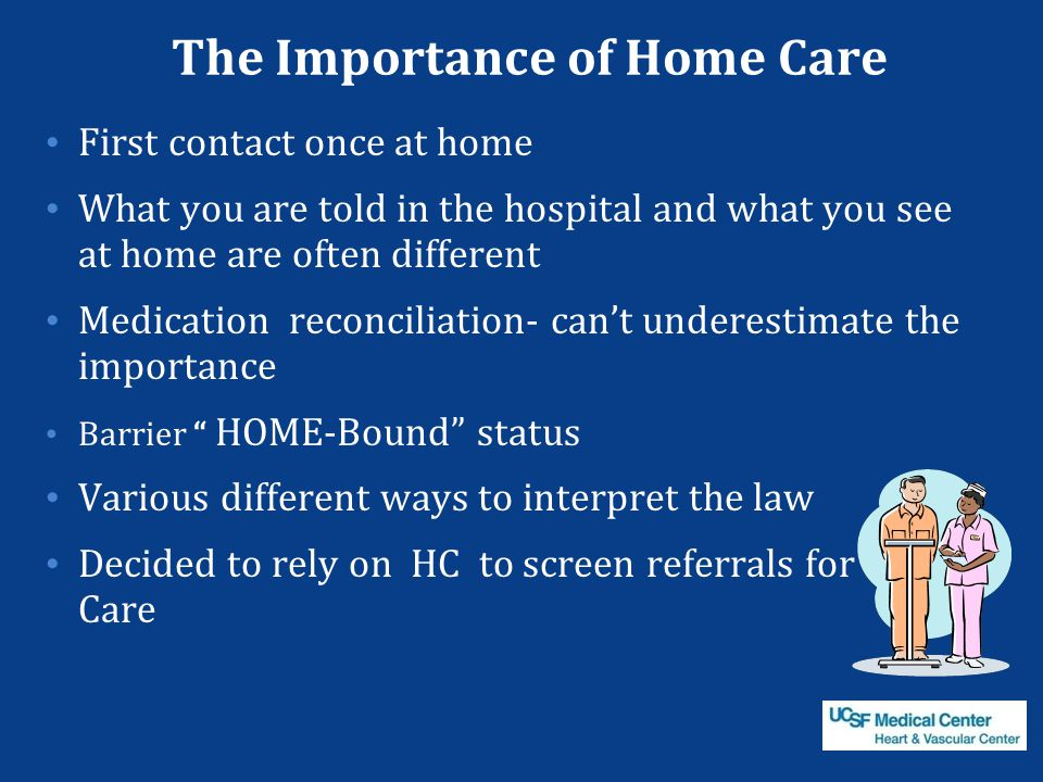 The Importance of Home Care