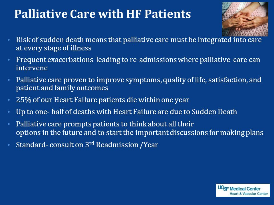 Palliative Care with HF Patients