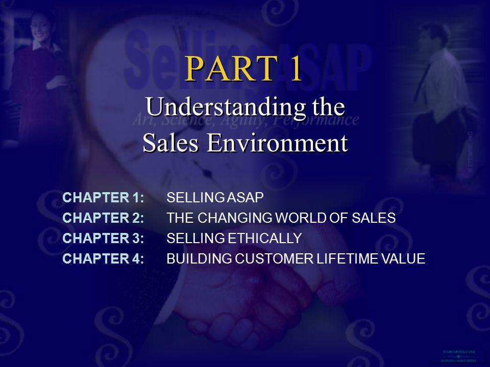 Understanding the Sales Environment