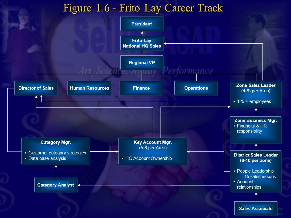 Figure 1.6 - Frito Lay Career Track