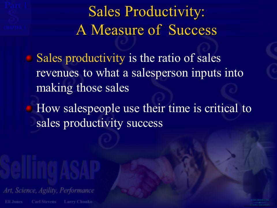Sales Productivity: A Measure of Success