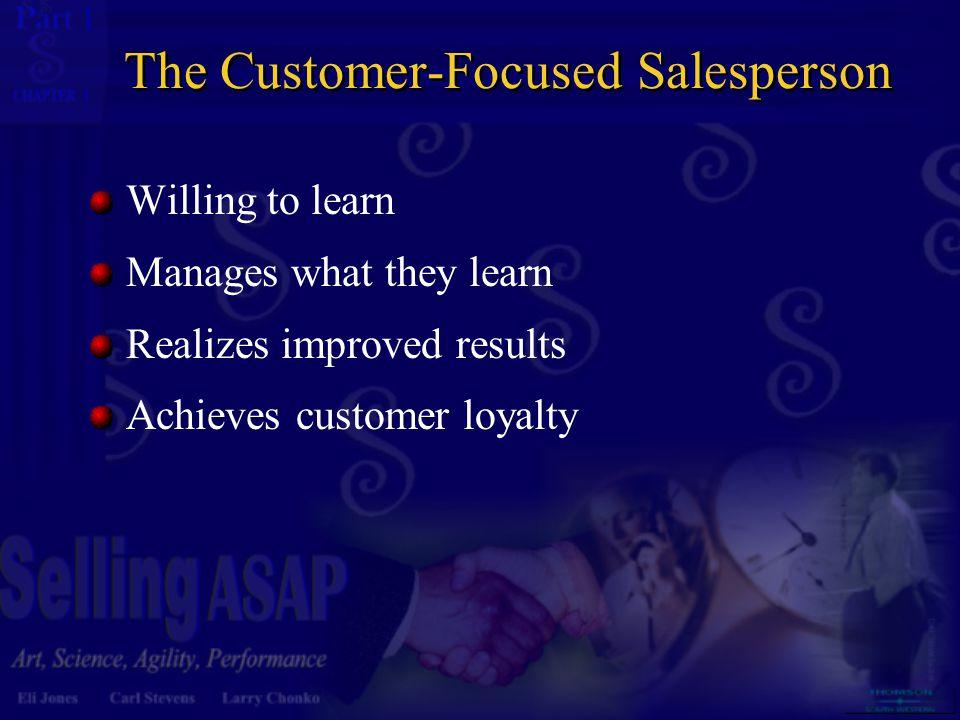 The Customer-Focused Salesperson
