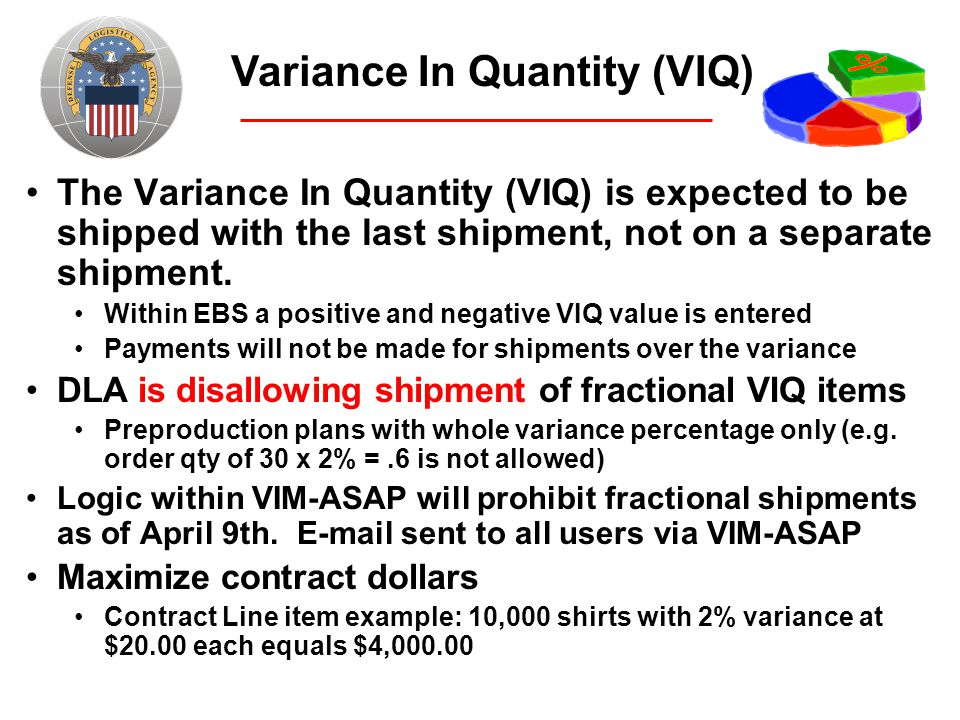 Variance In Quantity (VIQ)