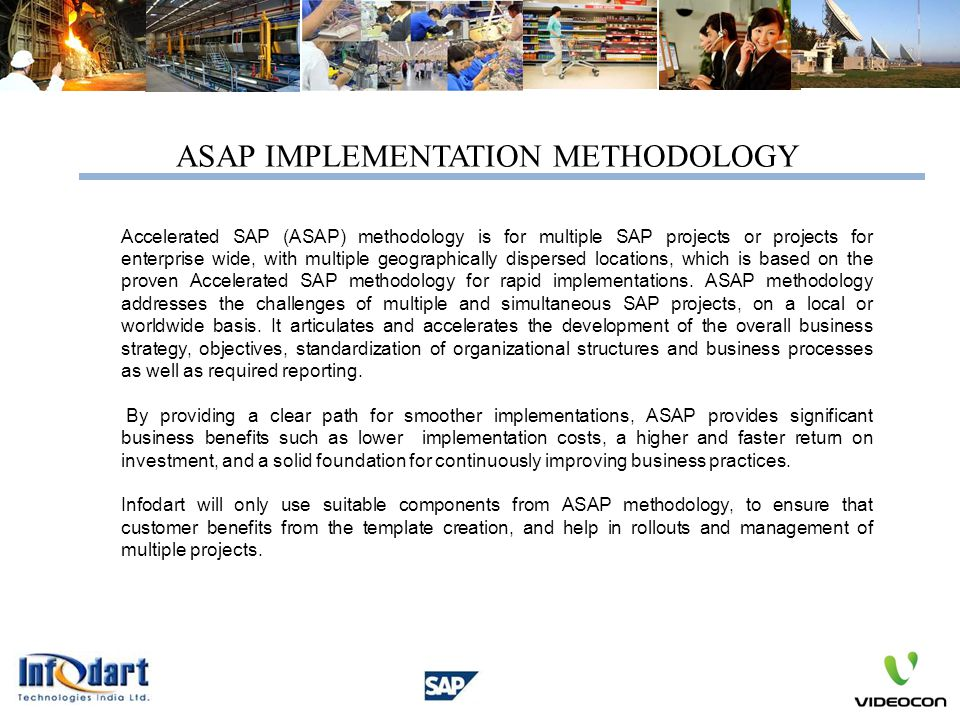 ASAP IMPLEMENTATION METHODOLOGY
