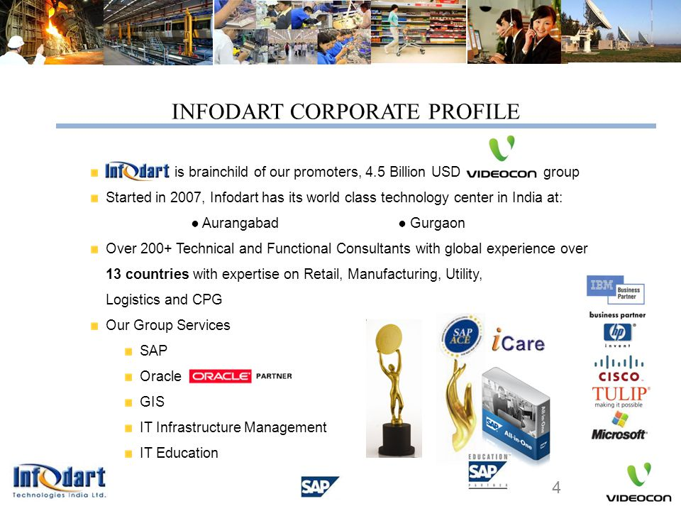 INFODART CORPORATE PROFILE