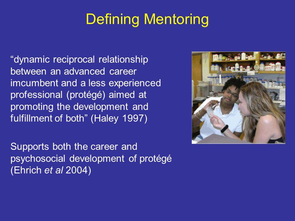 Defining Mentoring