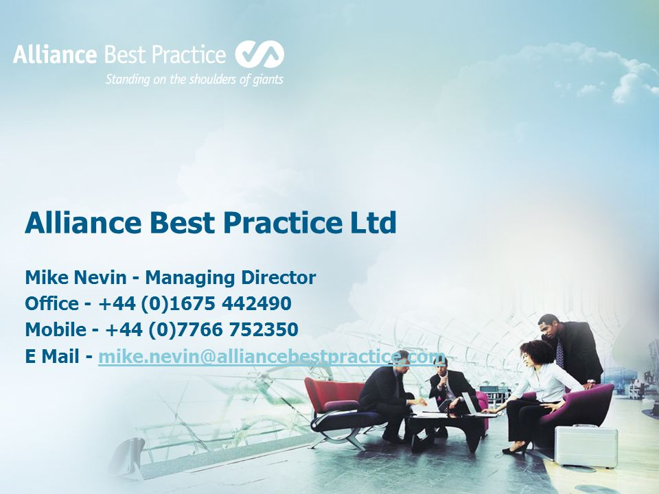 Alliance Best Practice Ltd
