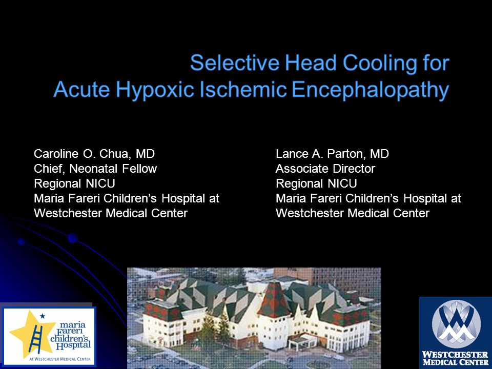Selective Head Cooling for Acute Hypoxic Ischemic Encephalopathy