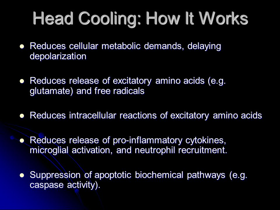 Head Cooling: How It Works