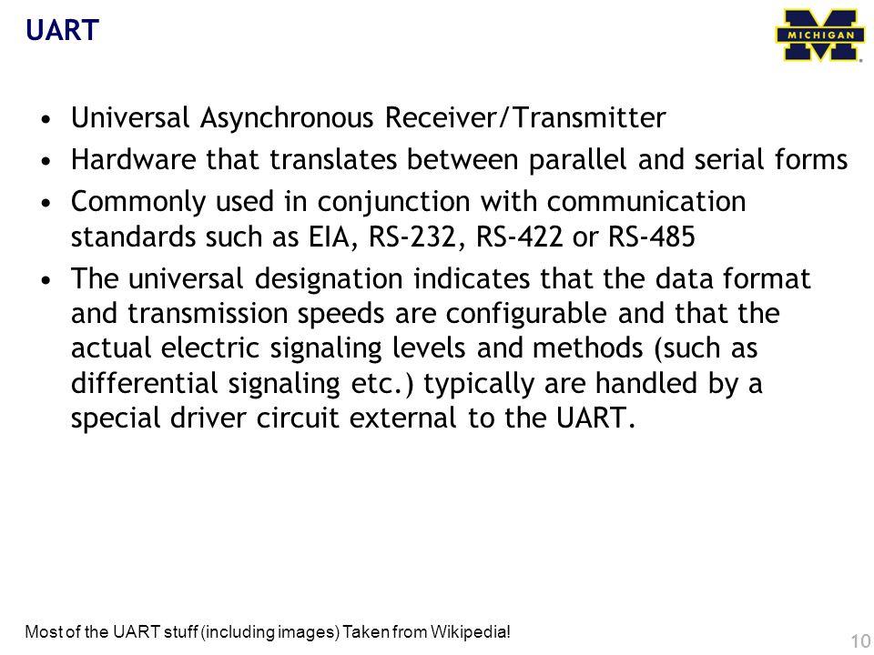 Universal Asynchronous Receiver/Transmitter