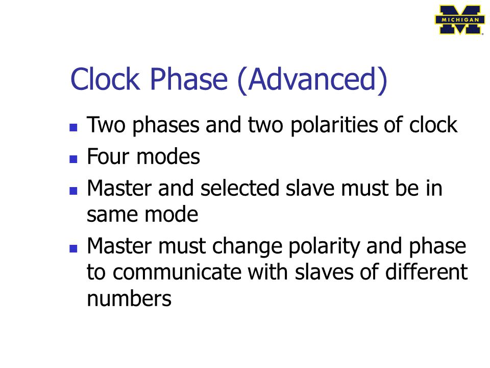 Clock Phase (Advanced)