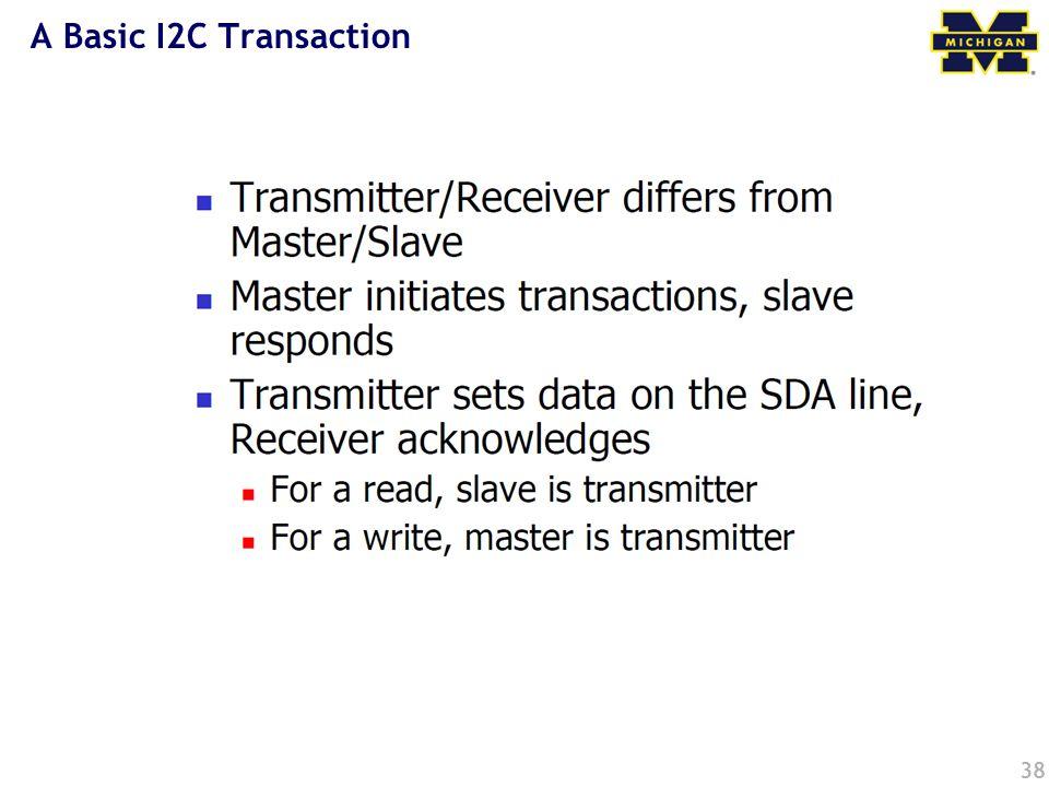 A Basic I2C Transaction