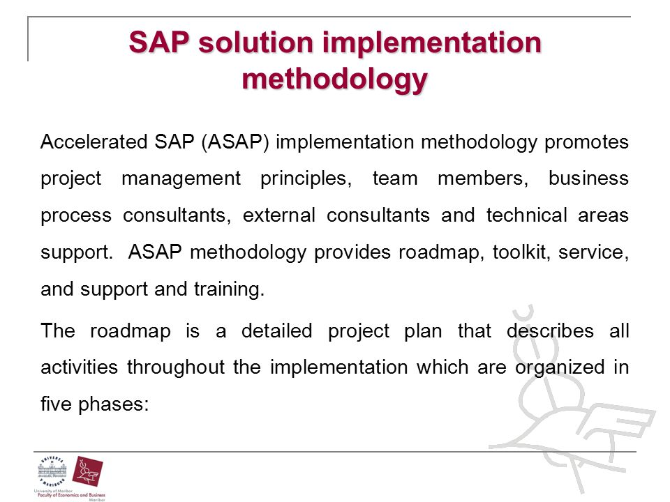SAP solution implementation methodology