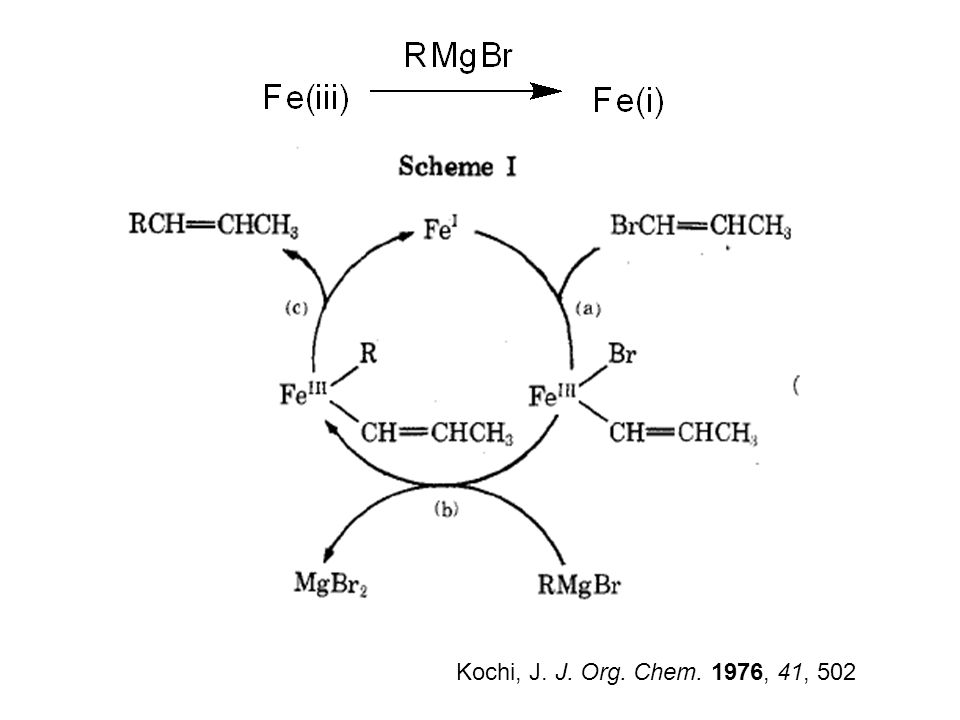 Kochi, J. J. Org. Chem. 1976, 41, 502