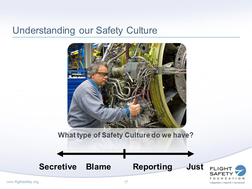 Understanding our Safety Culture